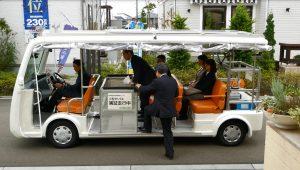EVバスによる次世代交通サービス(イメージ)