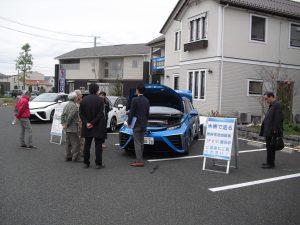 宮城県によるFCV(燃料電池自動車)展示