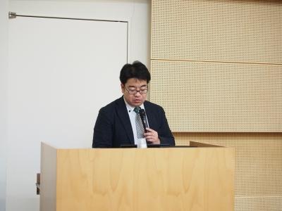 株式会社サリバテック 取締役CTO 杉本昌弘氏による講演の様子